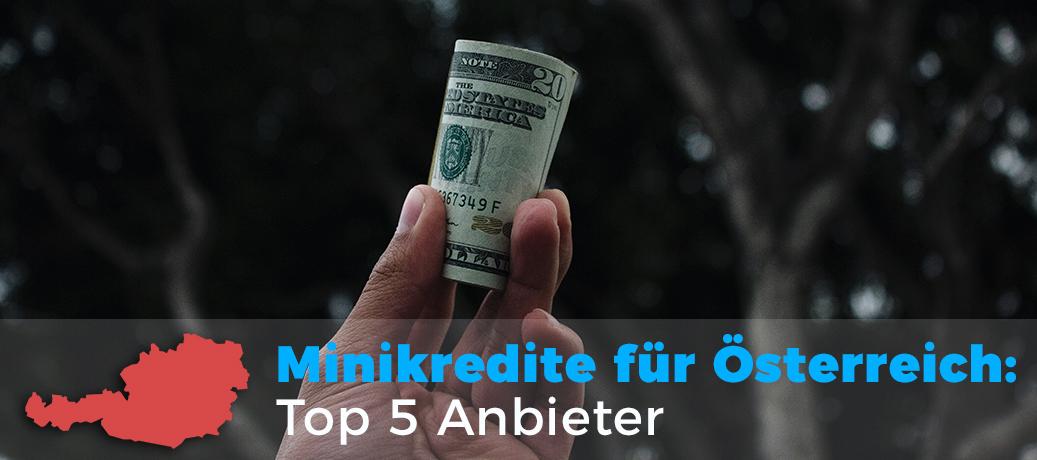 Minikredit Österreich: Top 5