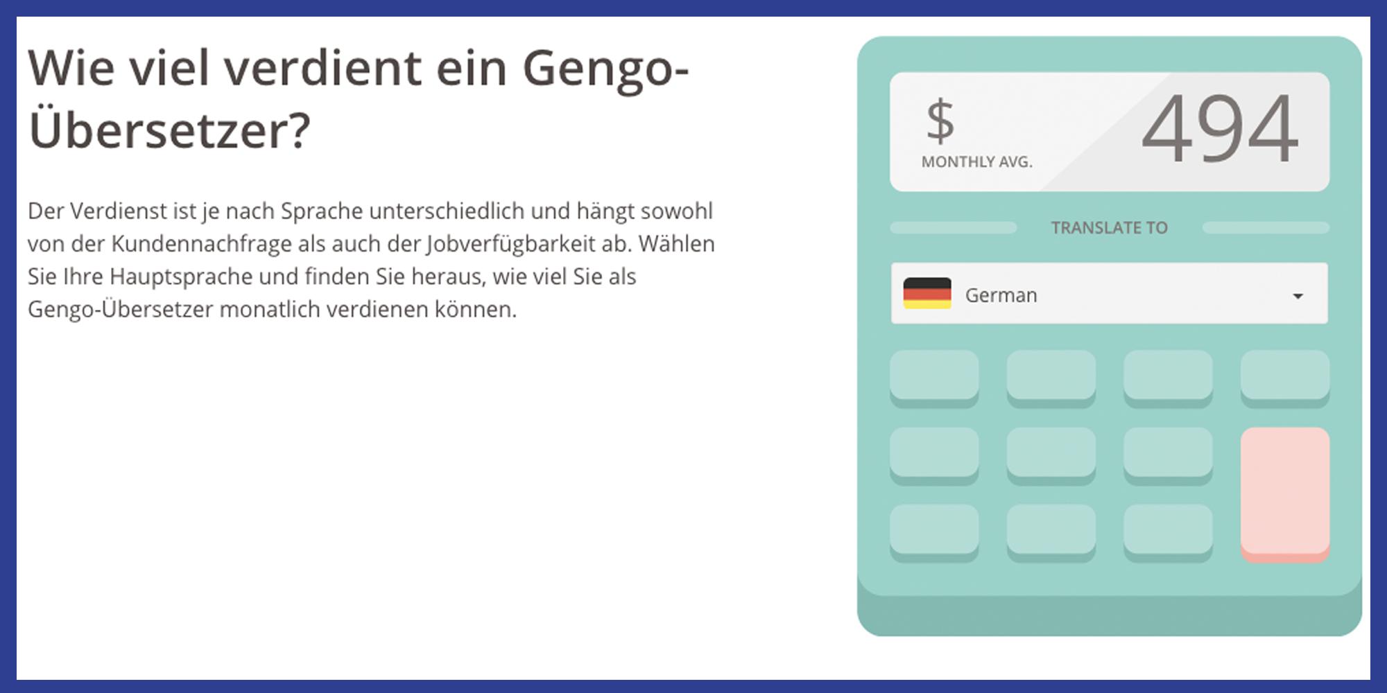 Übersetzer Heimarbeit Nebenjob von Zuhause Screenshot